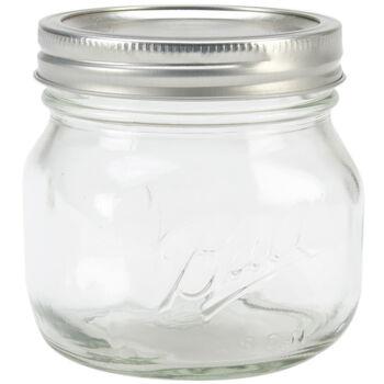 Ball Wide Mouth Canning Jar 4/Pkg-Pint