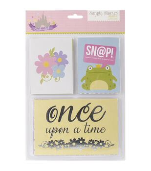 Simple Stories Sn@p! Enchanted Double-Sided Card Pack