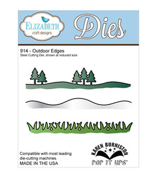 Elizabeth Craft Metal Die-Outdoor Edges
