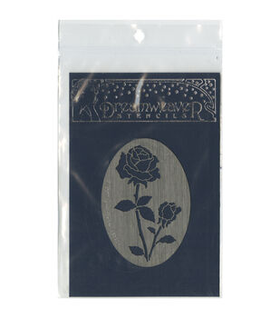 Stampendous Dreamweaver Metal Oval Rose Stencil