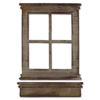 Sizzix Bigz Tim Holtz Alterations Die Window & Window Box