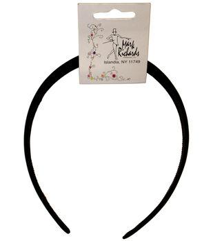 Mark Richards Satin Headband 1/Pkg-Black