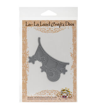 La-La Land Crafts Moon And Stars Banner Die