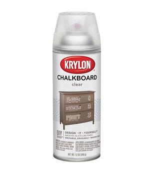 Krylon Chalkboard Aerosol Spray 12oz-Clear