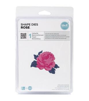 "Lifestyle Shape Die-Rose, 2.6""X2.2"""