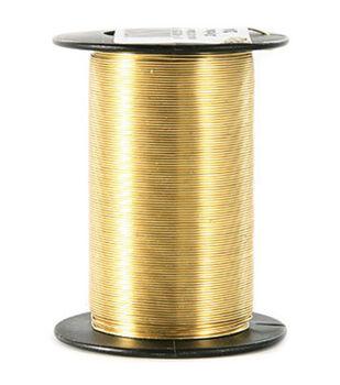 24 Gauge Wire 25 Yards/Pkg-Gold