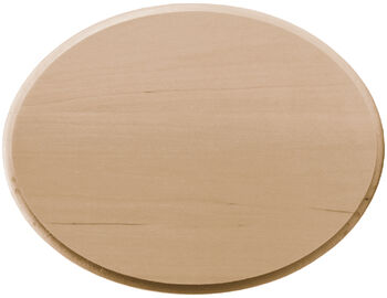 "Basswood Oval Plaque-8""X10"""