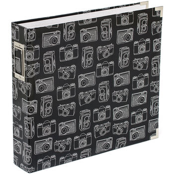 American Crafts Project Life Glossy D-Ring Album Cameras