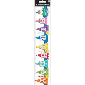 """Banner Stickers 2.5""""X12"""" Sheet"""