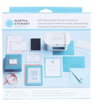 Martha Stewart Self Inking Stamp Designer Starter Kit-