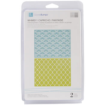 We R Memory Keepers Goosebumpz A2 Embossing Folders Whimsy