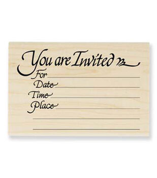 Invitation Stamp