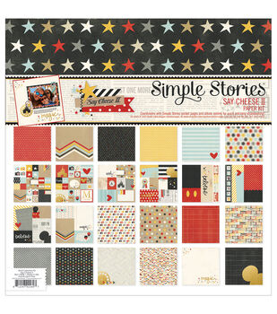 Simple Stories Say Cheese II Paper Pack