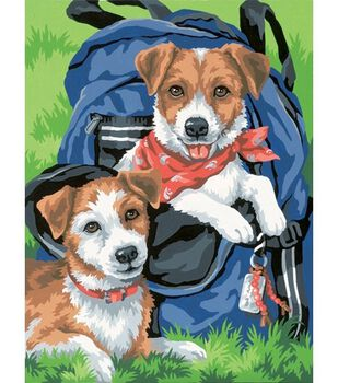 Dimensions Learn To Paint! Paint By Number Kit 9X12-Back Pack Buddies