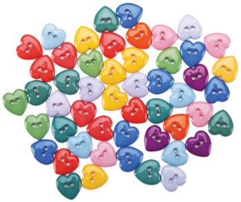 Dress It Up Embellishments-Mini Simple Hearts