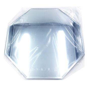 12'' Octagon Glass Mirror W/Bevel Edge