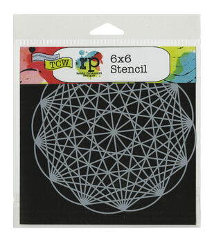 Crafter's Workshop Geodesic Template 6''x6''