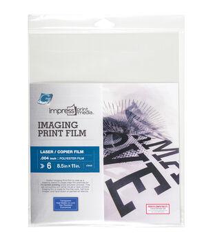 """Impress Imaging Laser Print Films 6/Pkg-8.5""""X11"""""""
