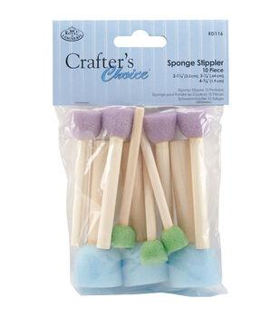 Sponge Stippler Set 10/Pkg-Assorted