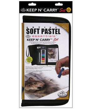 Keep N' Carry Artist Set-Color Soft Pastel