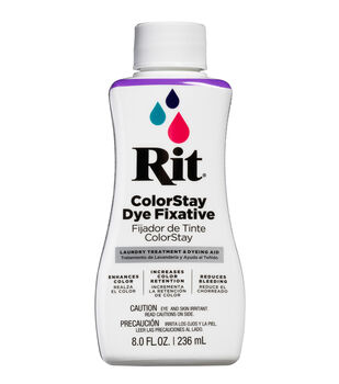 Rit 8 oz. Liquid Dye-1PK/Dye Fixative