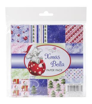 Wild Rose Studio Christmas Bella Paper 6''x6''