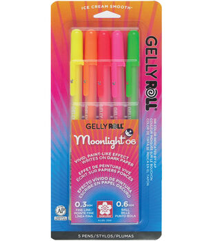 Gelly Roll Moonlight 06 Pens - Vibrant 5 pack