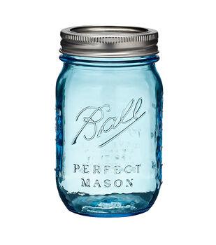 Ball Heritage Blue Jar Pint