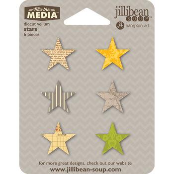 Jillibean Soup Mix The Media Stars Vellum Die-Cuts
