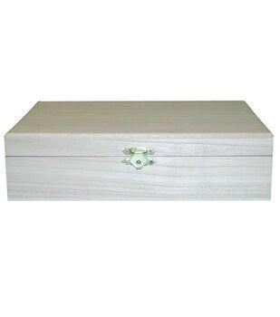 Hinged Wood Box