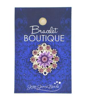 Bracelet Boutique Focal Bead Lilac Flower