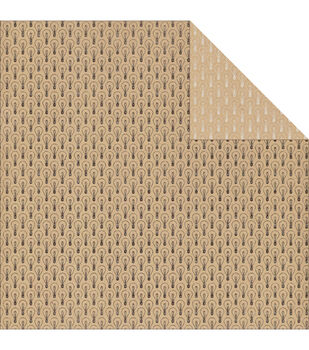 """Accomplished Double-Sided Cardstock 12""""X12""""-Brilliant"""