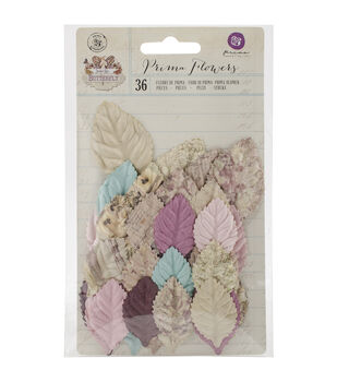 Prima Marketing Butterfly Aile Mulberry Paper Leaves
