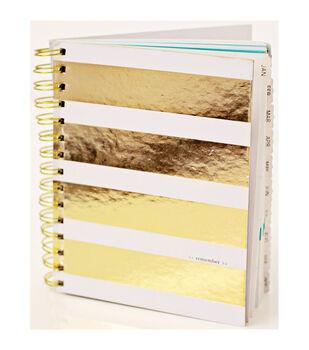 "Teresa Collins Studio Gold Calendar Book 6""X7.5"""