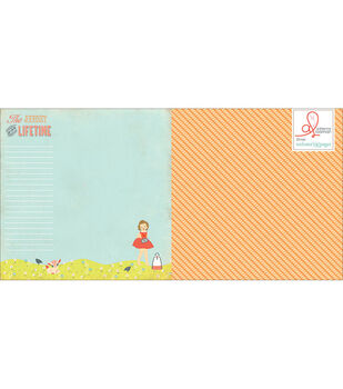 Webster's Pages Our Travels Journey Stories Double-Sided Cardstock
