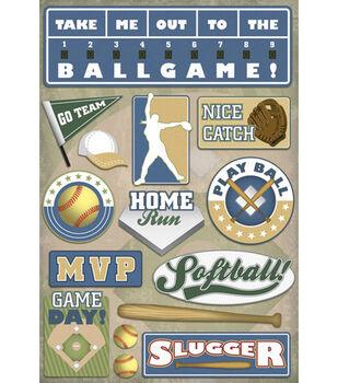 Karen Foster Softball Stickers-MVP