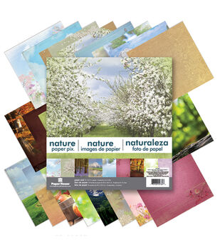 Paper House Nature Double-Sided Paper Pad 12''x12''