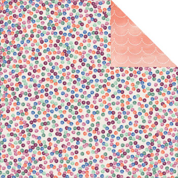 Carta Bella Wildflower Double-Sided Cardstock Paper Sequins