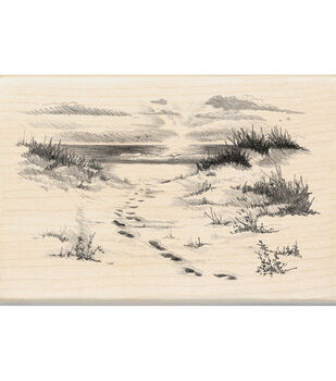 Inkadinkado® Rubber Stamp-Beach