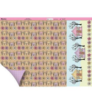 "Kanban Crafts Dawn Bibby 2-Sided Cardstock 12""X12""-Woodland"