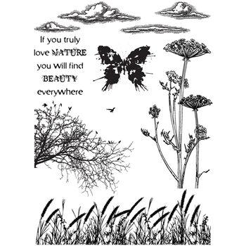 IndigoBlu Cling Mounted Stamp Nature 1