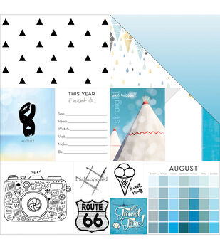 August -these Are Days Paper
