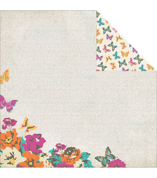 """Radiant Double-Sided Cardstock 12""""X12""""-Whimsical"""