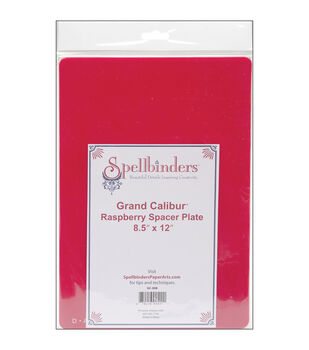 Spellbinders Grand Calibur Spacer Plate Raspberry