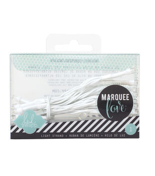 "Heidi Swapp Marquee Love Light Strand 44.9""-Clear"