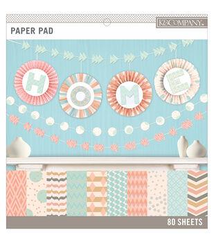 K&Company Basics Paper Pad Pastels 12''x12''