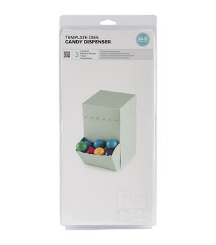 We R Memory Keepers Lifestyle Candy Dispenser Template Dies