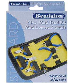 Mini Tool Kit 5/Pkg With Zipper Pouch-