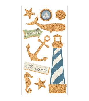 Cork'd embellishments-Nautical