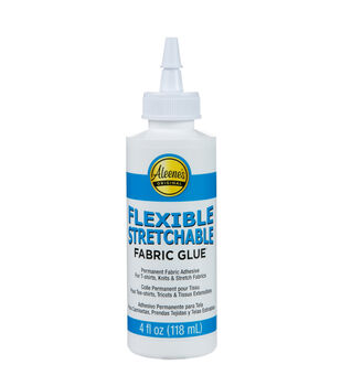 Aleene's Flexible Stretchable Fabric Glue 4 oz.